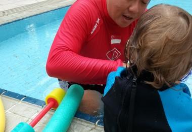 Toddler Swimming Programme -16 months old boy