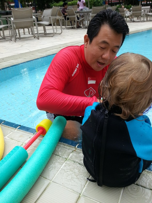 Toddler Swimming Programme -16 months old boy