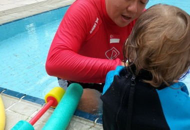 Toddler swimming programme